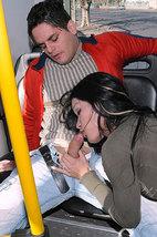tn shemalesinpublic vannina di marko 1 008 Una mamada en el autobus y polvazo, y no es un sueño!!