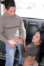 tn shemalesinpublic vannina di marko 1 011 Una mamada en el autobus y polvazo, y no es un sueño!!